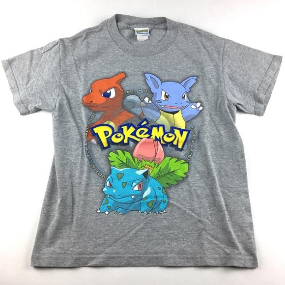 ec0b5ef7 Pokemon Shirts & Tops | Vintage Pokmon Gotta Catchem All Youth ...
